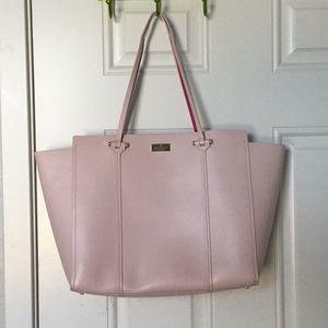 Lightly used large pink Kate Spade bag